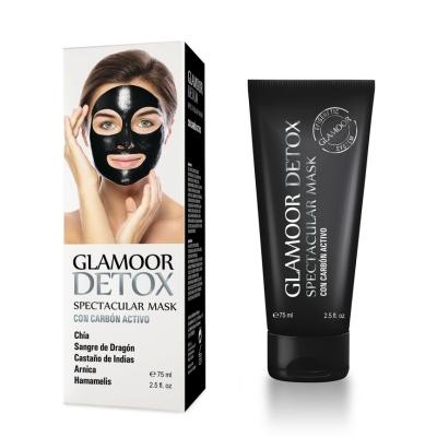 GLAMOOR DETOX, Mascarilla facial detoxificante